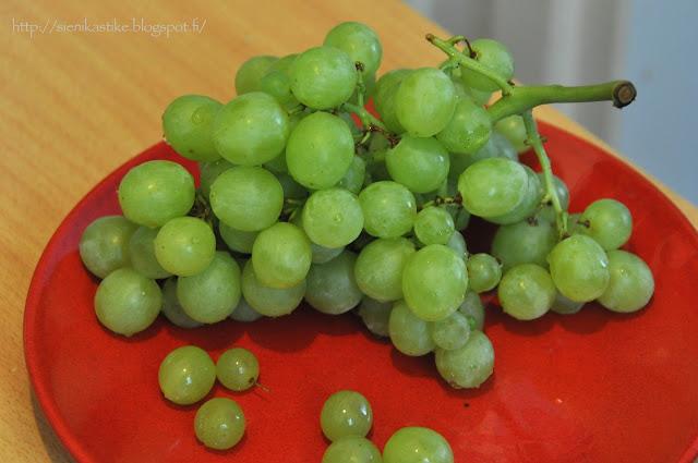 vihreä viinirypäle, grape