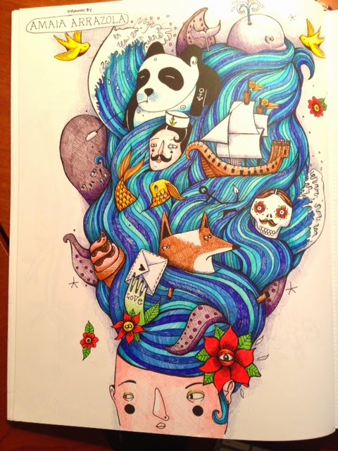 Line Art By Amaia Arrazola
