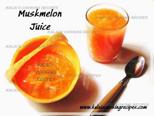 Simple Muskmelon | Cantaloupe | Mulam Pazham Juice - Summer Fruit