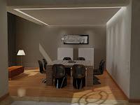 3d model dining room vray