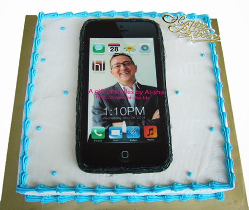 Birthday Cake Edible Image iphone