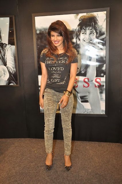 Priyanka Chopra unveiling the Guess campaign