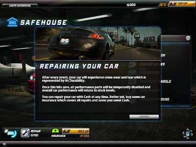 Need For Speed World - Car Repairs