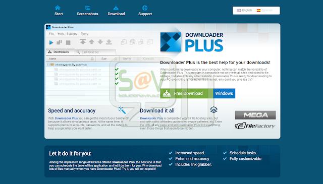 Downloader Plus - Virus