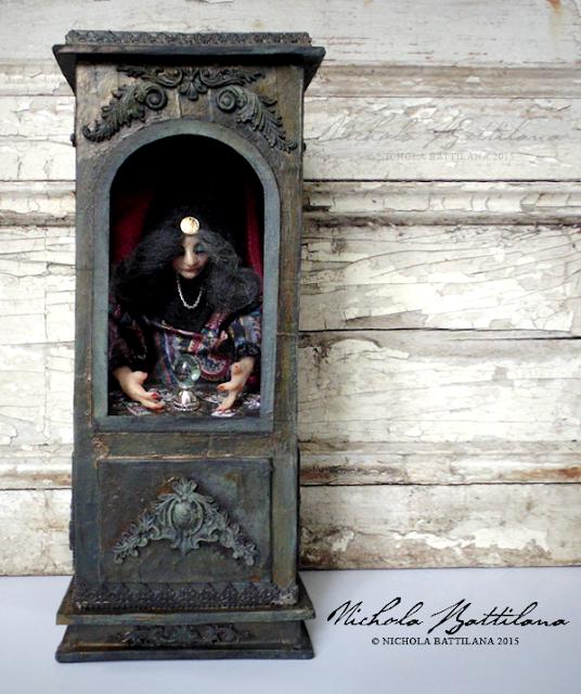 OOAK Gypsy Fortune Teller Booth - Nichola Battilana