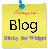 Tạo Sticky cho nhiều Widget của blogspot