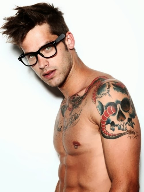 Ideas tattoos tumblr for men healthy business for Tattooed and pierced porn