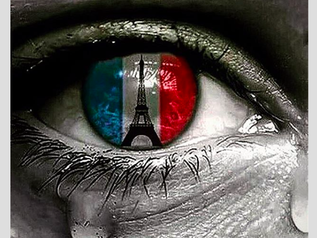 Africa prays for paris