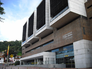 One of the Los Andes university buildings in Bogotá