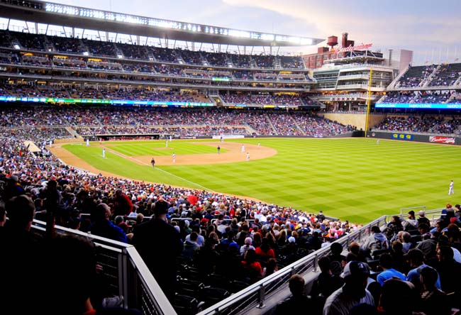target field twins. turf at Target Field for a