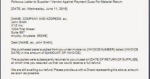 Payment Letter Format Mistaken Payment Letter Mistaken Payment