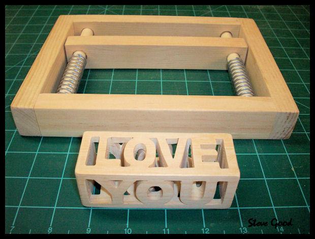 Scrollsaw Workshop Compound Cut Love You Scroll Saw Pattern