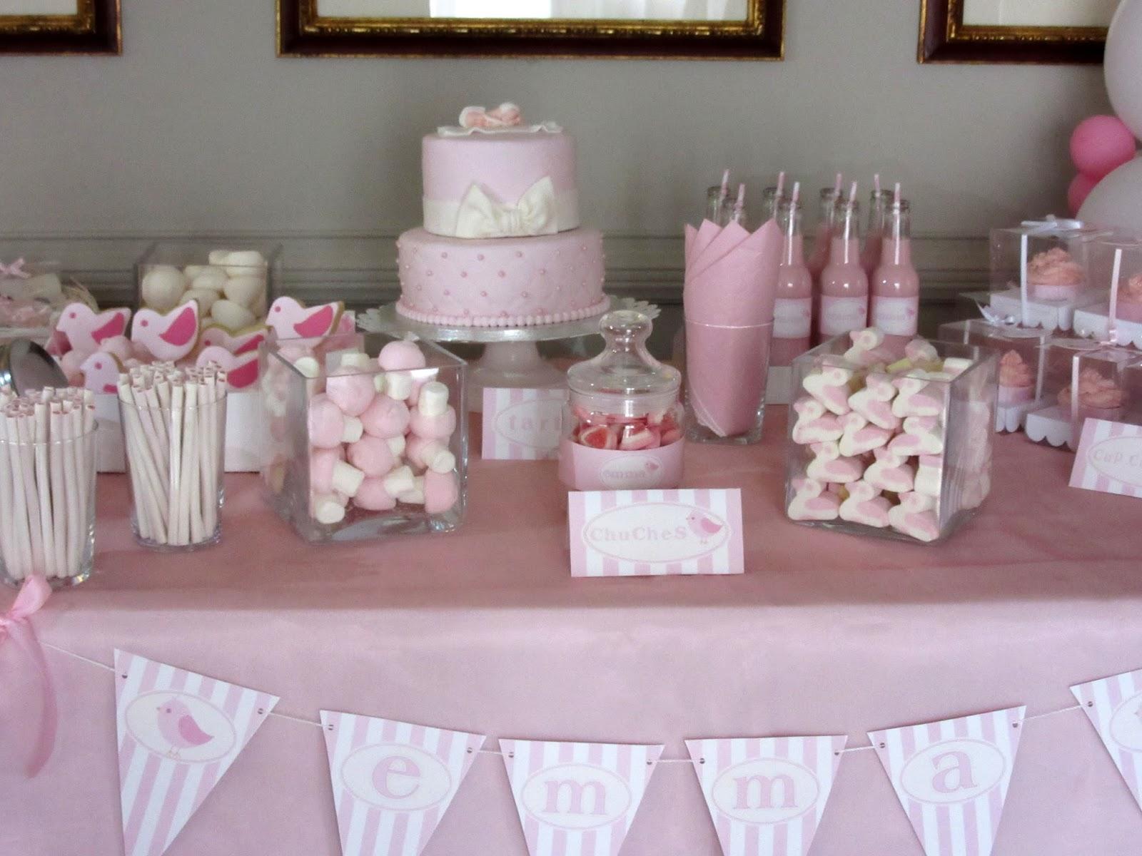Tu tarta con arte decoramos tu fiesta for Mesa de dulces para bautizo de nina