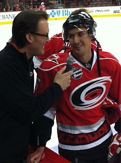 #6 Ted Enarson w/ John Forslund - Carolina Hurricanes Alumni Game