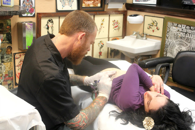 sebastian orth and catherine masi - tattooing