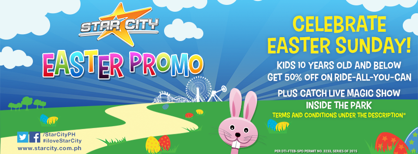 Manila shopper holy week staycation promos easter 2015 for Is there any shops open on easter sunday