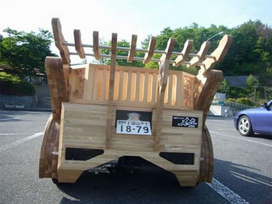 berita mobil kayu