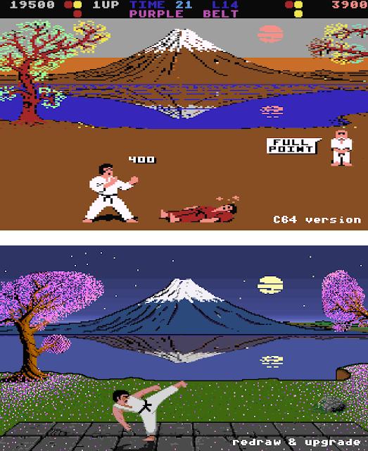 International Karate Deluxe (IK++) - the graphic upgrade