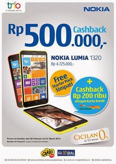 Promo Nokia Lumia 1320