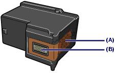 а - электронные схемы; в - печатающая головка