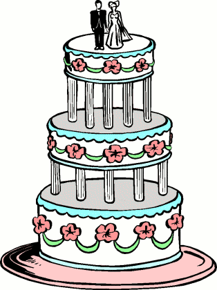 Wedding Cake Cartoon | lol-rofl.com