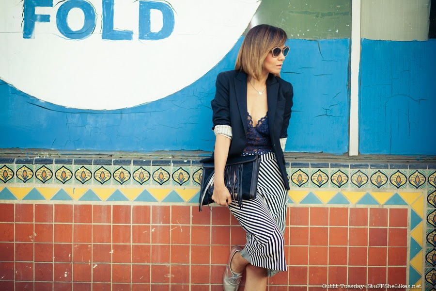 lace crop top, zara, striped maxi skirt,black blazer, top fashon blog, best fashion blog, Black fashion bloger, Bob hair cut