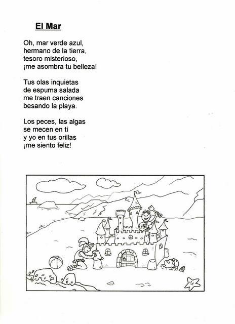 Poemas Cortos Para Nios | Car Interior Design