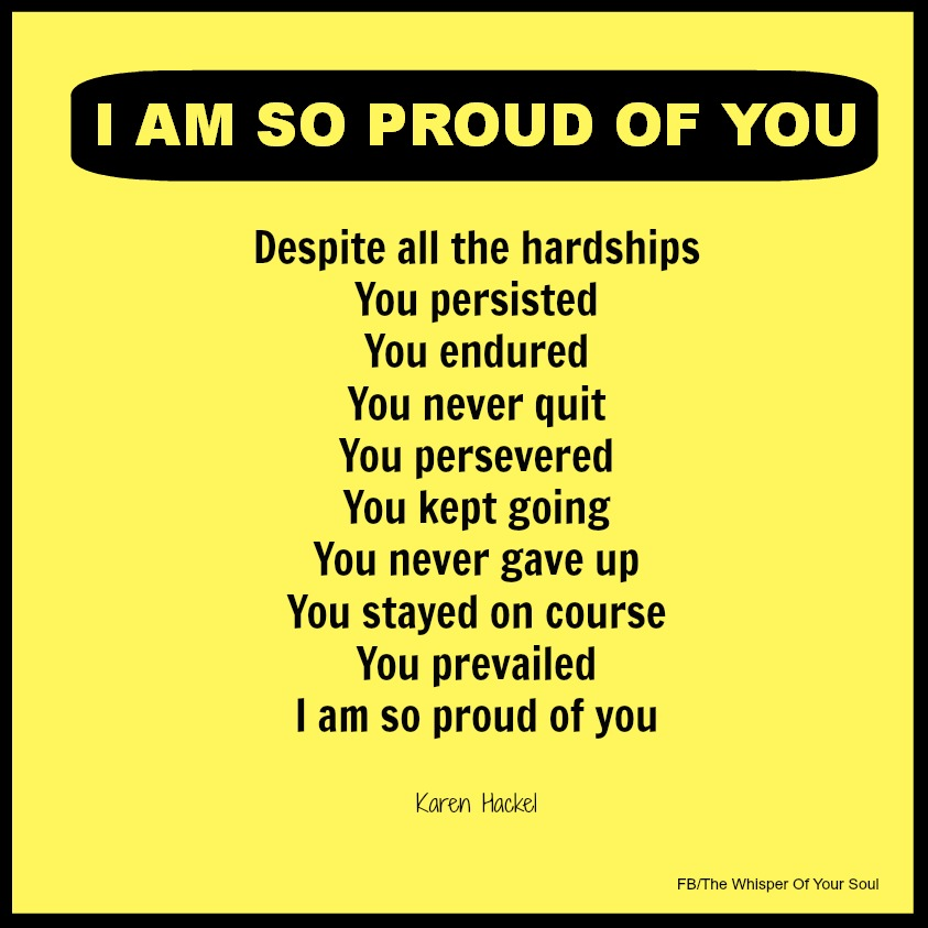 So Proud Of You Quotes. QuotesGram I Am Proud Of My Daughter Quotes