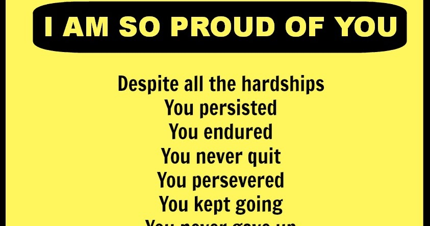 Proud Of You Quotes Delectable The Whisper Of Your Soul I Am So Proud Of You
