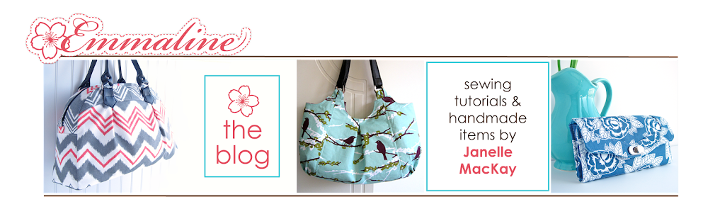 Emmaline Bags:  Sewing Patterns and Purse Supplies