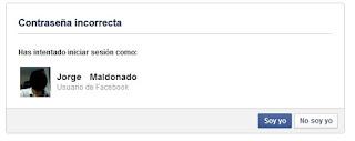 falla facebook. revela usuario telefono