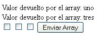 Controlar array de checkbox con jquery y php