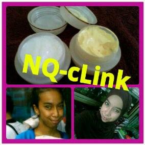Harga NQ Clink : Rp120.000; perpaket (cream siang & malam & sabun muka ...