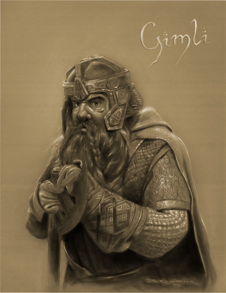 Lord of The Rings Pencil Drawings All Drawings Are 19x25 White