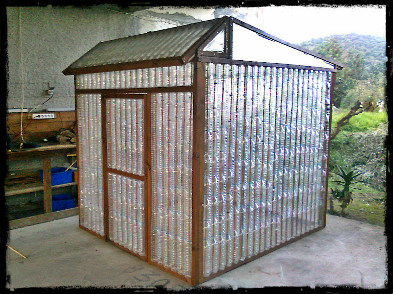 Recycled Plastic Bottle Greenhouse
