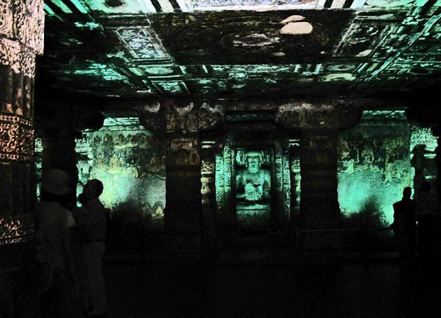 Buddhist shrine at Ajanta