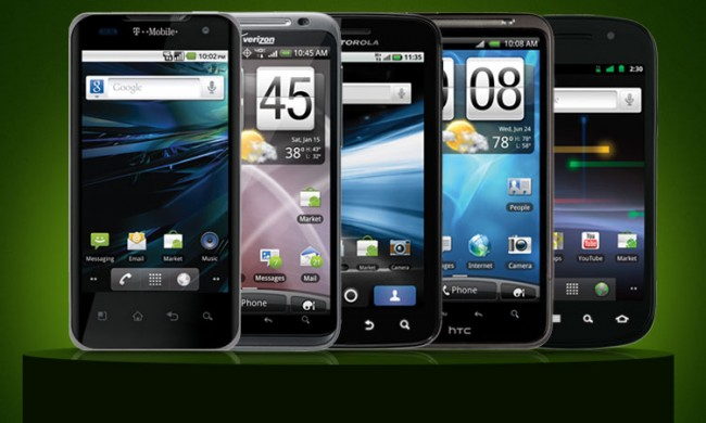 5 best android mobile phones of year 2012 android campus