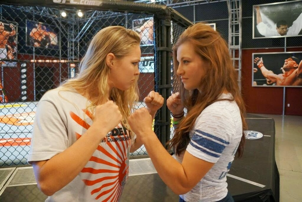 As melhores e mais Lindas lutadoras do UFC