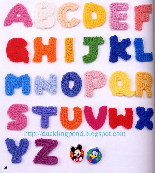 Ducklingpond: Alphabet Motif
