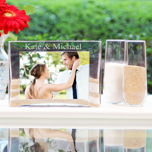 personalized unity sand ceremony set