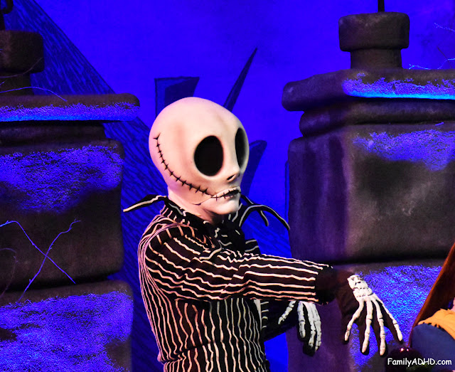 walt disney world mickey's not so scary halloween party 2015 jack skellington sally meet & greet memory maker
