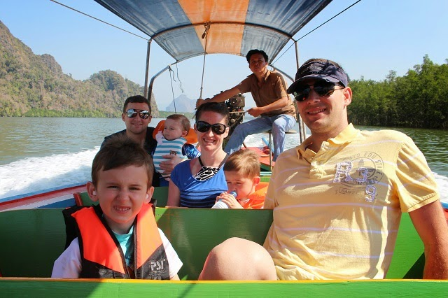 Easy Day Customers on a Private Phang Nga Bay Sightseeing Tour