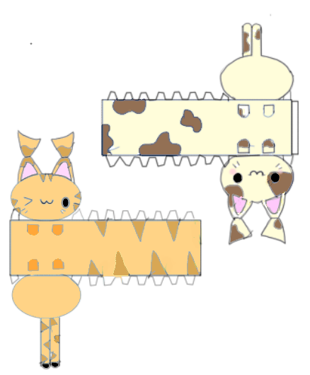 Papercraft Easy Guidance Templates