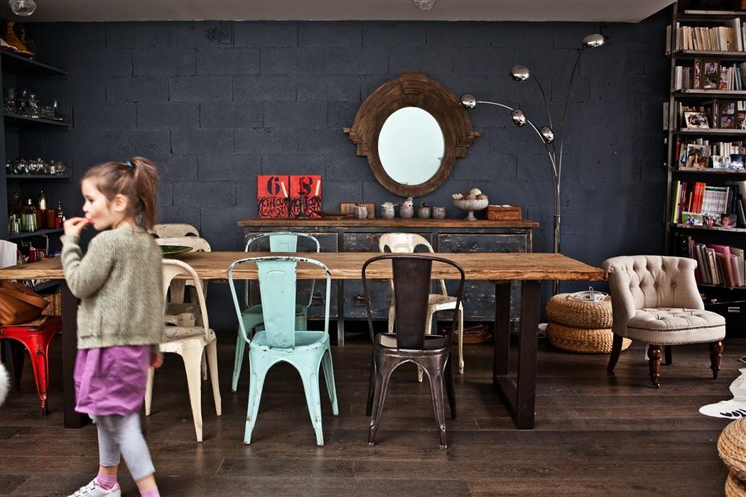 atelier rue verte le blog paris un loft lumineux. Black Bedroom Furniture Sets. Home Design Ideas