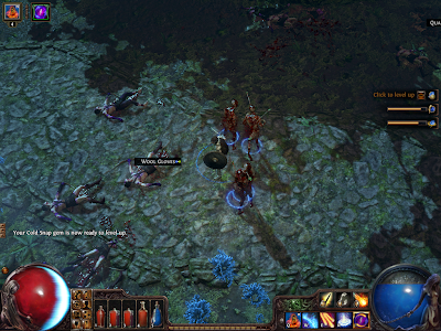 Path of Exile - Skill Gem Level Up