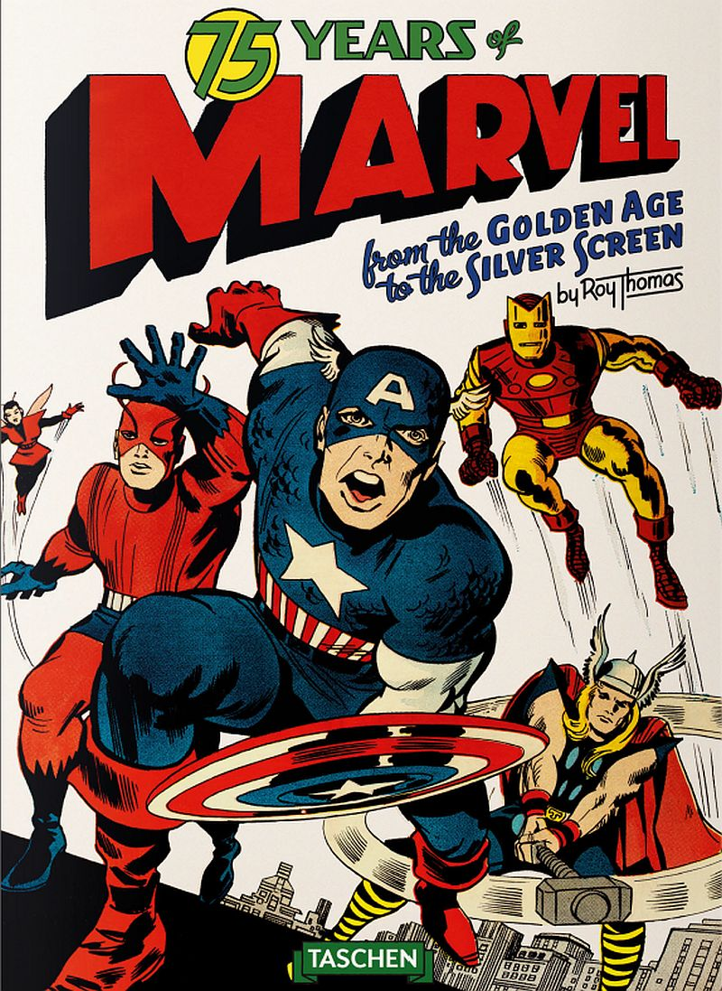 Taschen 75 Years of Marvel Comics