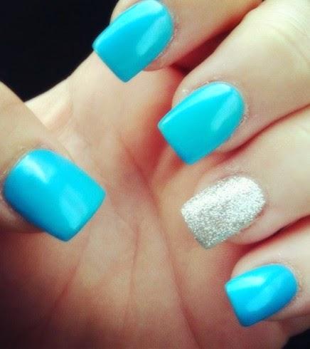 Acrylic winter nails, acrylic winter nails pinterest 2015
