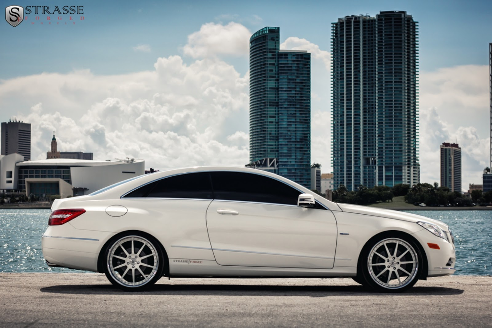 all cars nz 2012 mercedes benz e350 coupe by strasse forged. Black Bedroom Furniture Sets. Home Design Ideas