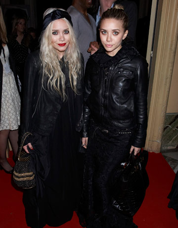 Olsen twins in lots of clothes