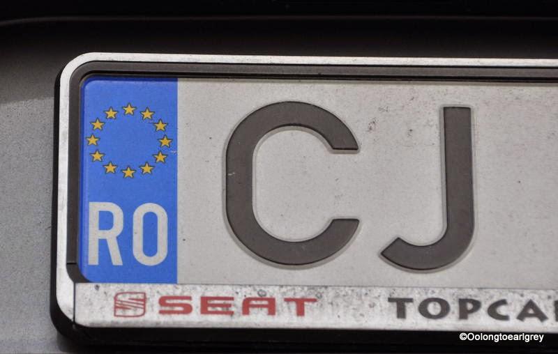 European Numberplate: Romania